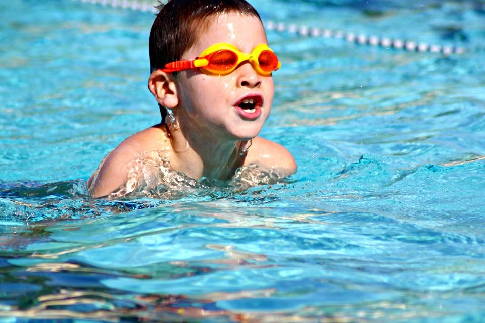 Děti a plavání – jak je to naučit? 1
