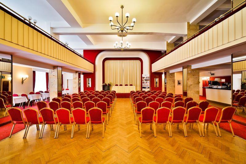 Profesionální zázemí pro konference a společenské události