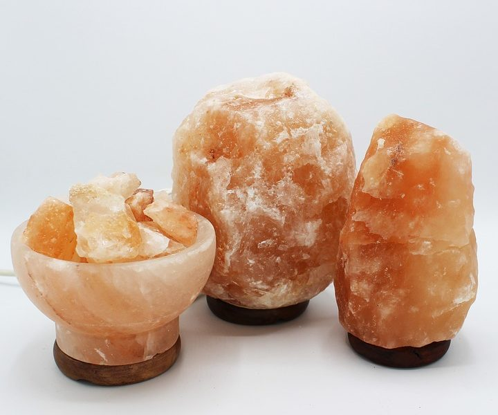 Vhlavní roli sůl – jako dekorace i praktický pomocník