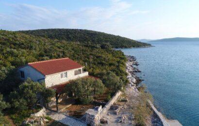 Dovolená v Chorvatsku v izolovaném domě na samotě